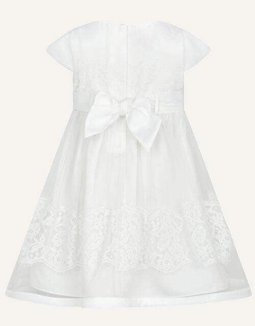 Baby Alovette Christening Dress, Ivory (IVORY), large