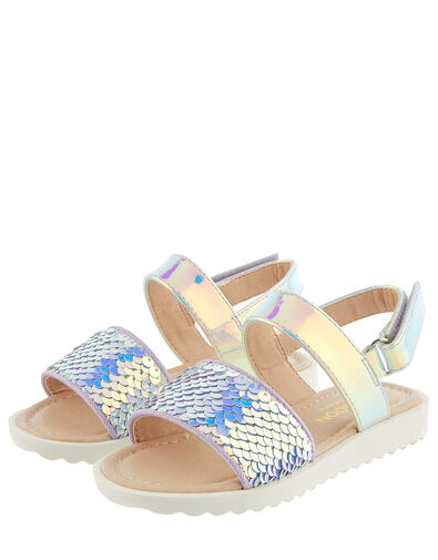 Baby Mermaid Sequin Sandals Multi, Multi (MULTI), large