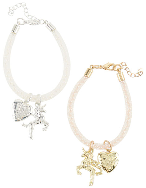 Rainbow Tear & Share Encased Bracelets, , large