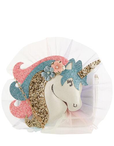 Dreamy Unicorn Glitter Bag, , large