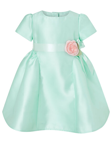 Baby Corsage Dress Green, Green (MINT), large