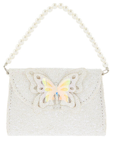 Leah Glitter Butterfly Mini Bag, , large