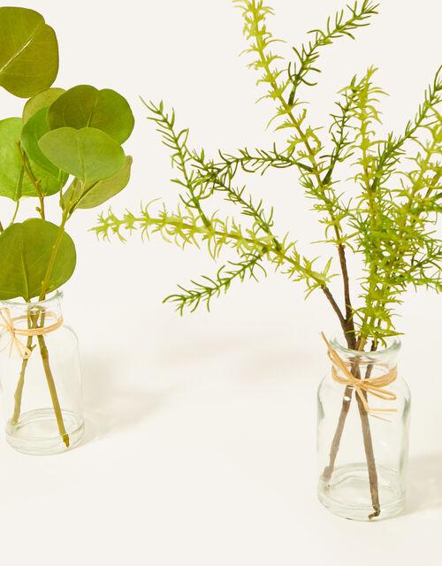 Faux Eucalyptus Branch Vases, , large
