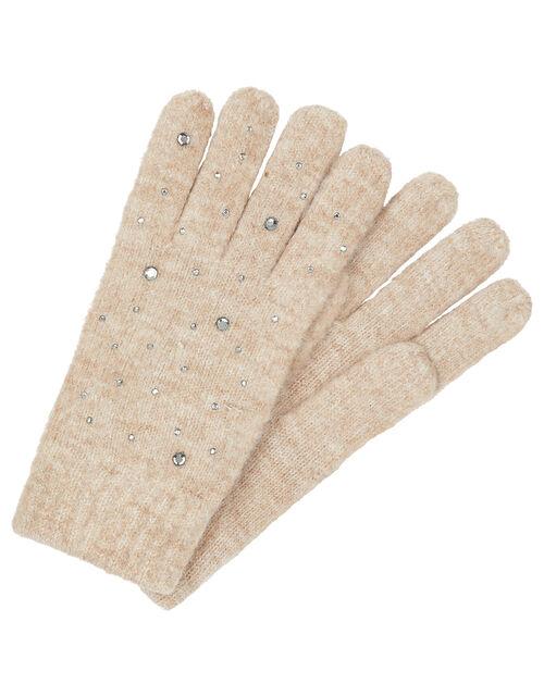 Georgia Gem Knit Gloves, , large