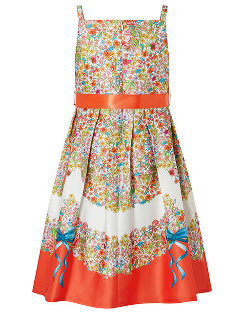 Jasmine Ditsy Floral Twill Dress, Multi (MULTI), large