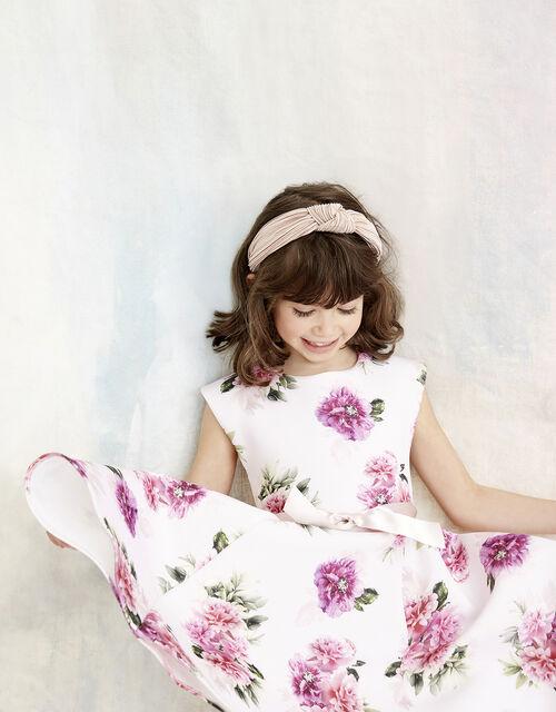 Deena Floral Scuba Dress, , large