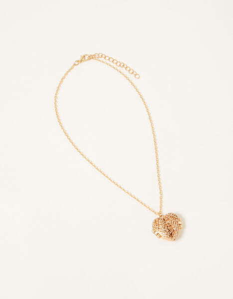 Wish Wings Locket Necklace Gold, , large