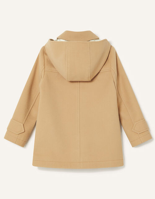 Hooded Duffle Coat, Camel (CAMEL), large