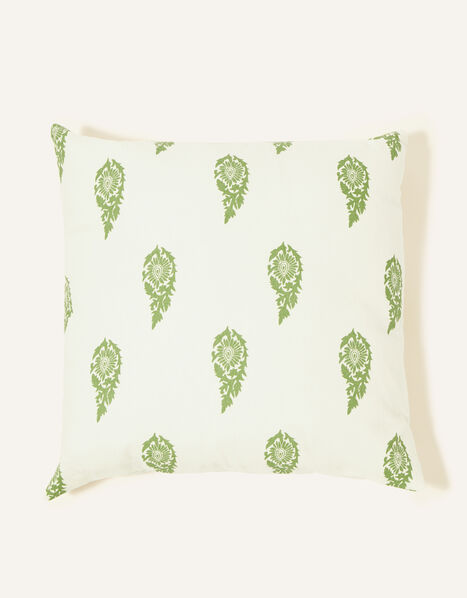 Leaf Print Cushion , , large
