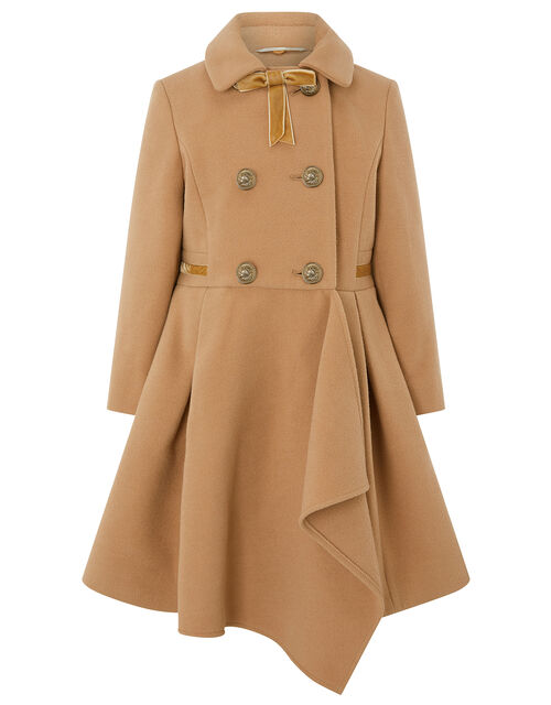 Camel Waterfall Coat, Camel (CAMEL), large