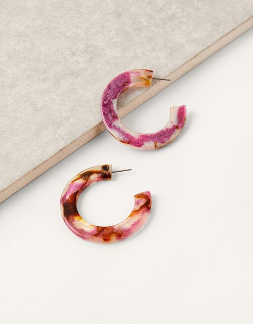 Tort Hoop Earrings, , large