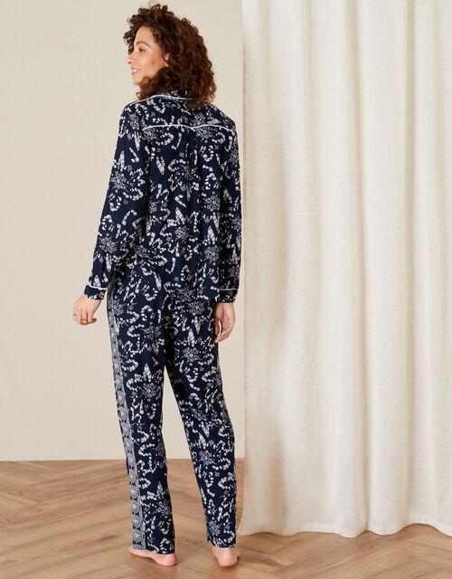 ARTISAN STUDIO Pyjama Set, Blue (NAVY), large