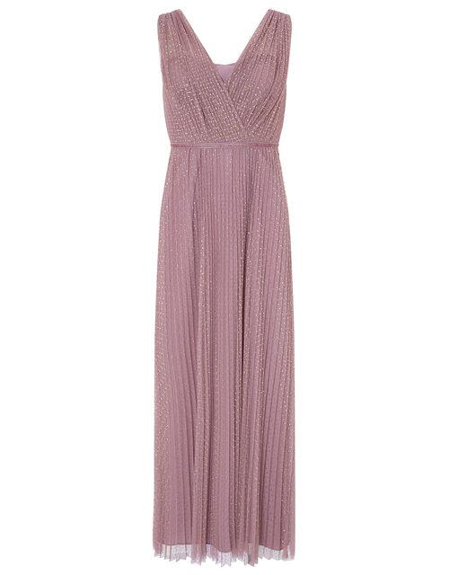 Freya Spot Print Maxi Dress, Pink (PINK), large