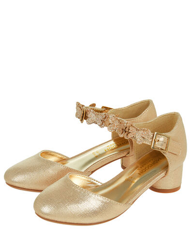 Savannah Butterfly Metallic Shoes Gold, Gold (GOLD), large