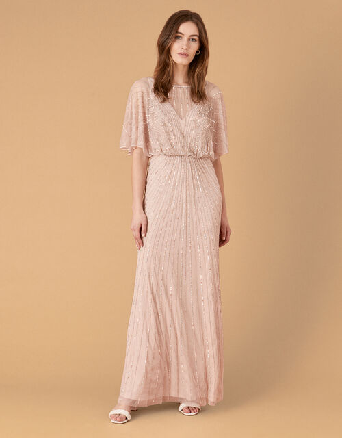 ARTISAN Taylor Embellished Maxi Dress, Pink (PINK), large