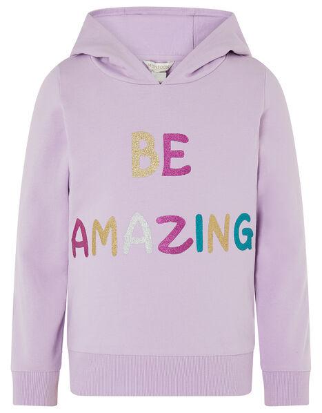 Be Amazing Hoody Purple, Purple (LILAC), large