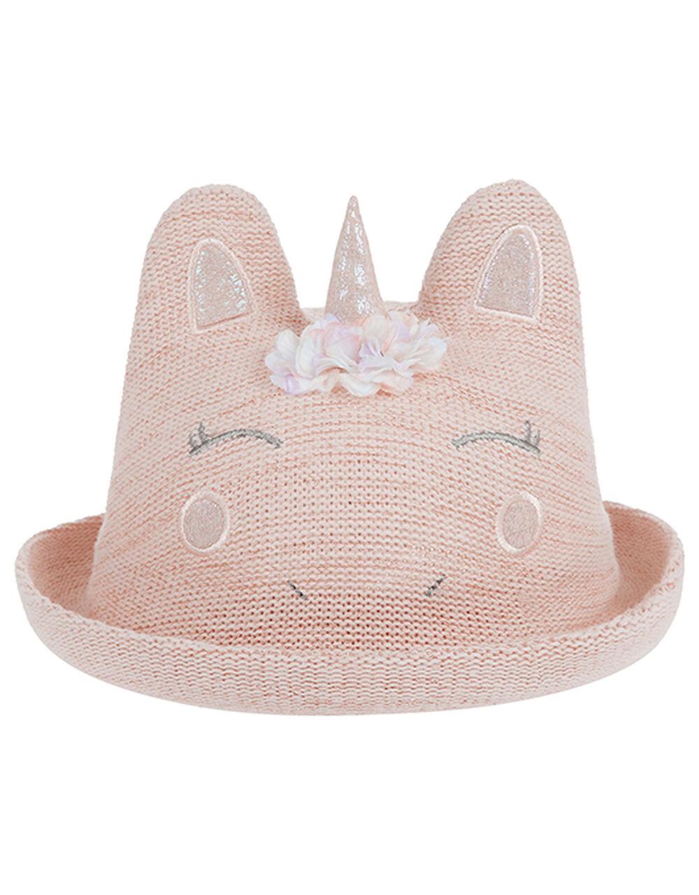 Baby Unicorn Bowler, Pink (PINK), large