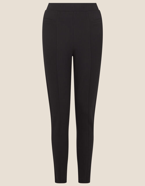 Perry Ponte Trousers, Black (BLACK), large