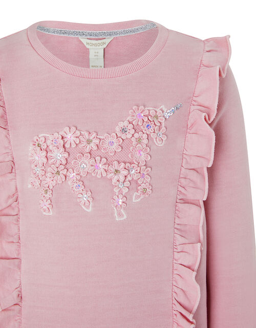 Unicorn Sweatshirt, Pink (PINK), large