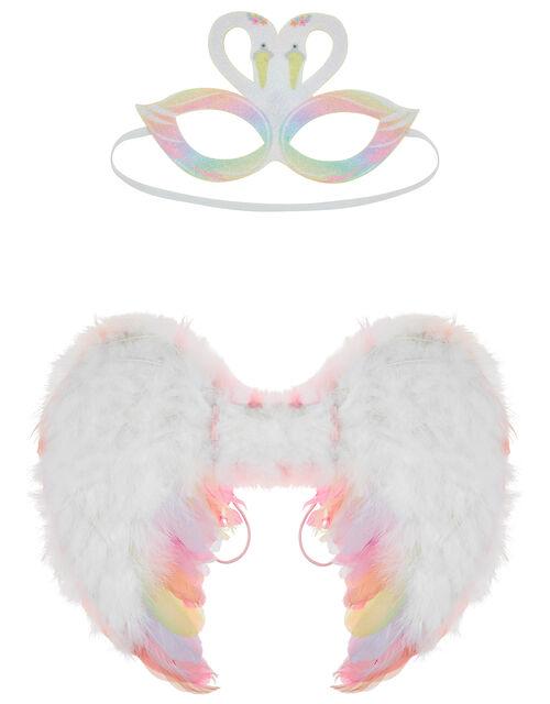 Reversible Flamingo and Swan Dress-Up Set, , large
