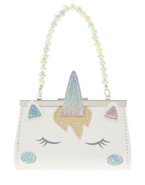 Rainbow Blush Unicorn Mini Bag, , large