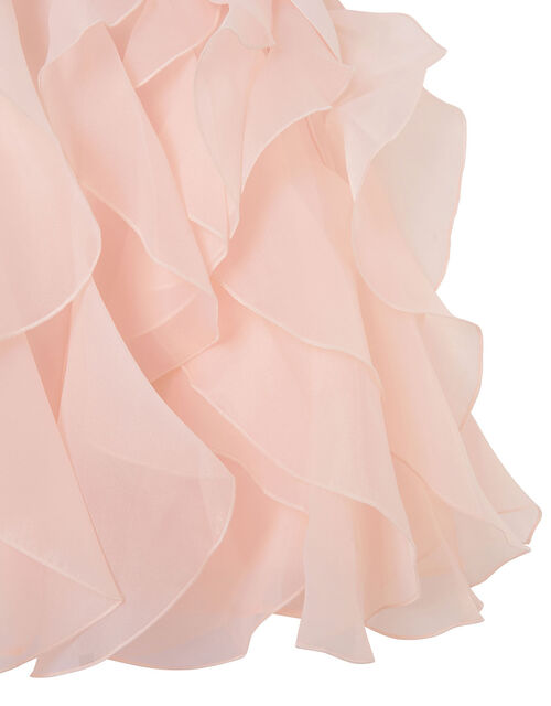 Cannes Ruffle Dress, Pink (PINK), large