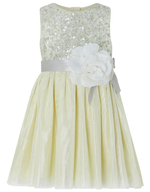 Baby Truth Sparkle Dress, Yellow (LEMON), large