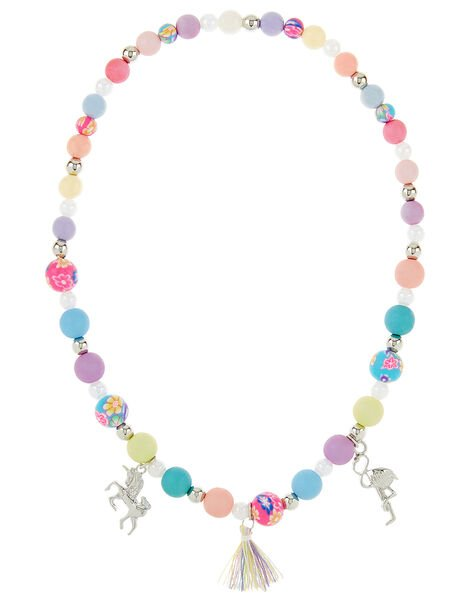 Rainbow Charmy Necklace , , large