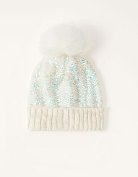 Dolly Sequin Pom-Pom Hat  Multi, Multi (MULTI), large