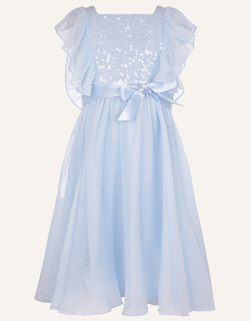 Rowanna Sequin Dress, Blue (BLUE), large