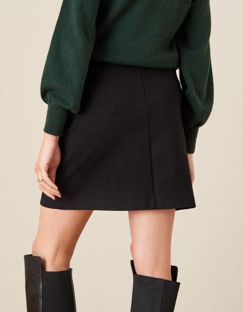 Polly Military Skirt, Black (BLACK), large