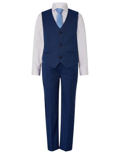 Jake Four-Piece Suit Set Blue, Blue (BLUE), large