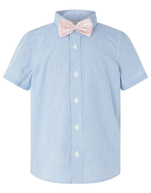 Martin Shirt, Trousers and Bow Tie Set, Blue (NAVY), large