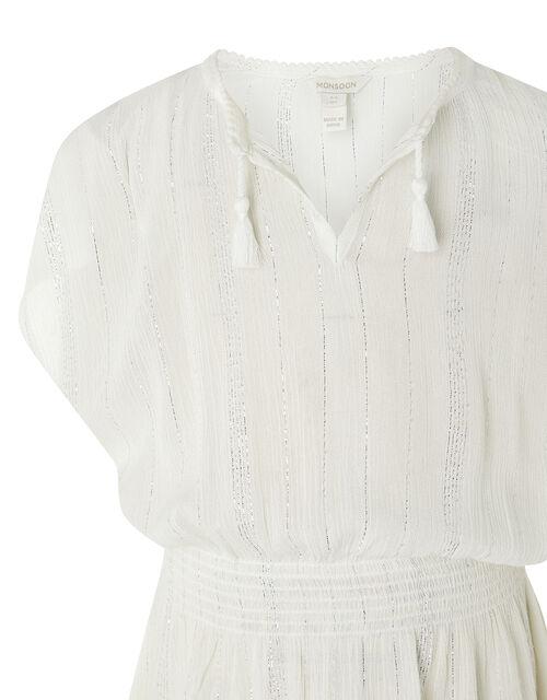 Willabelle Sparkly Kaftan, White (WHITE), large
