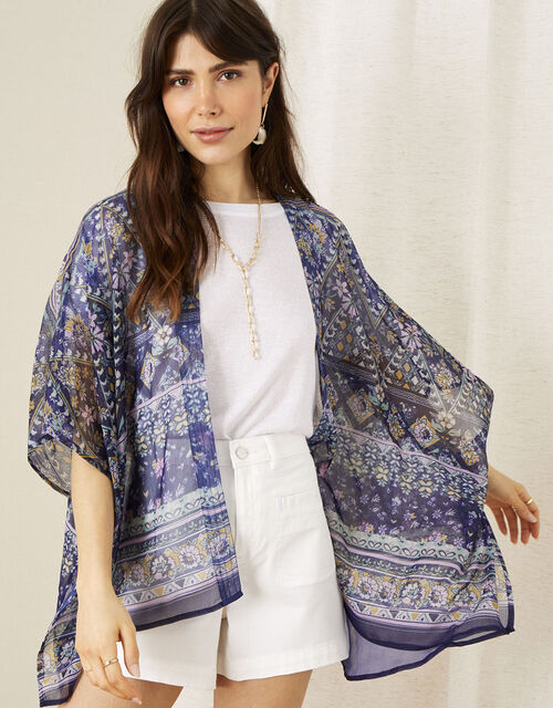 Pebble Patch Print Cover Up, , large
