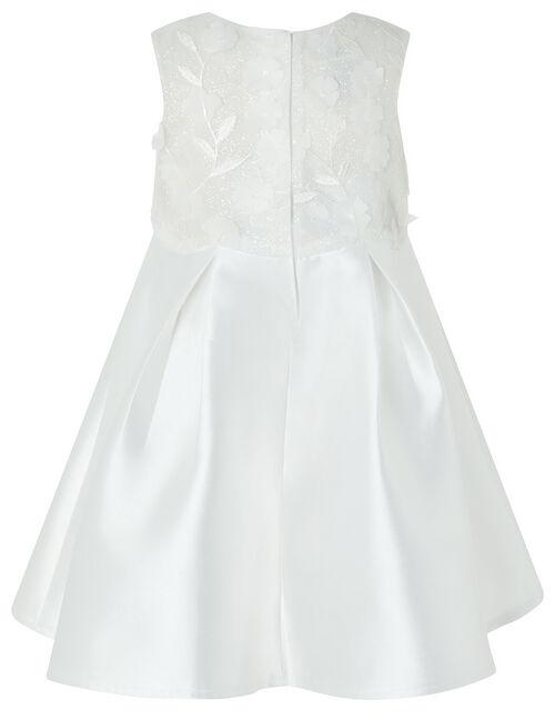 Baby Anika Sparkle Occasion Dress, Ivory (IVORY), large