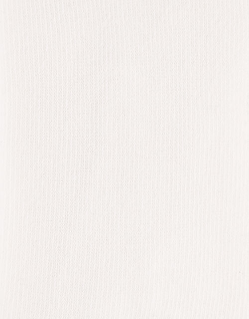 Baby Frosted Sparkle Knit Tights, Ivory (IVORY), large
