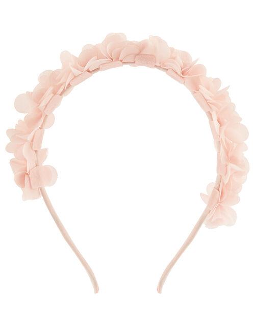 Pom-Pom Flower Headband, , large