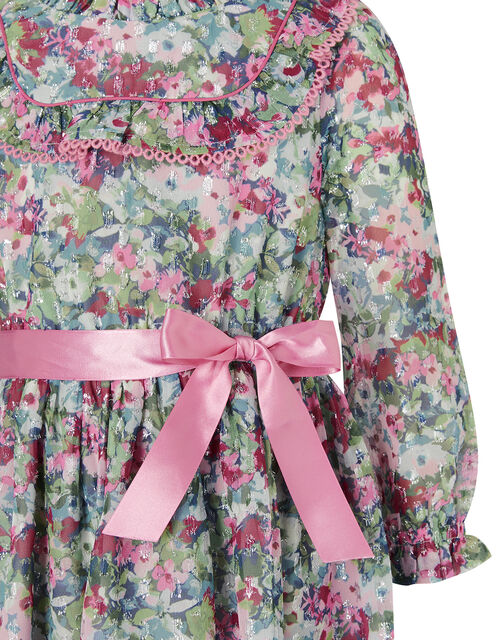 Floral Print Dress, , large