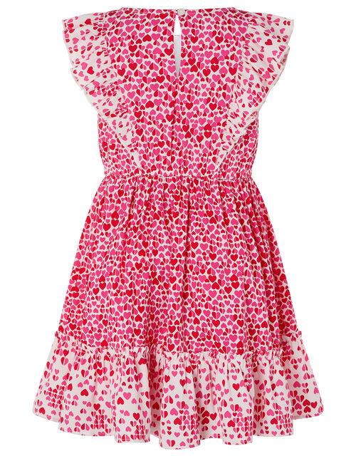 Aria Heart Dress, Red (RED), large