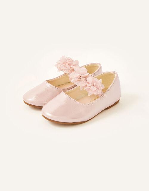Corsage Shimmer Walker Shoes, Pink (PINK), large