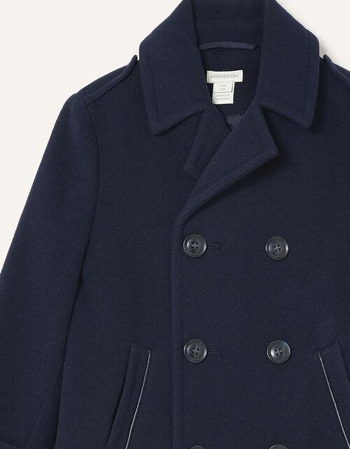 Pea Coat, Blue (NAVY), large