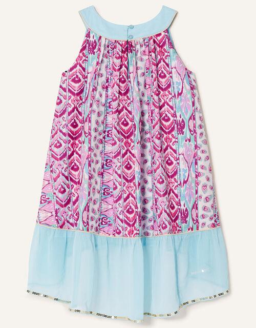 Aztec Tunic Top and Leggings Set, Pink (PINK), large