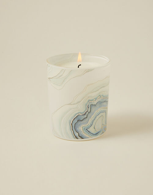 Forest Rain Blue Agate Candle, , large