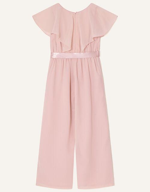 Bonita Sequin Cape Jumpsuit , Pink (DUSKY PINK), large