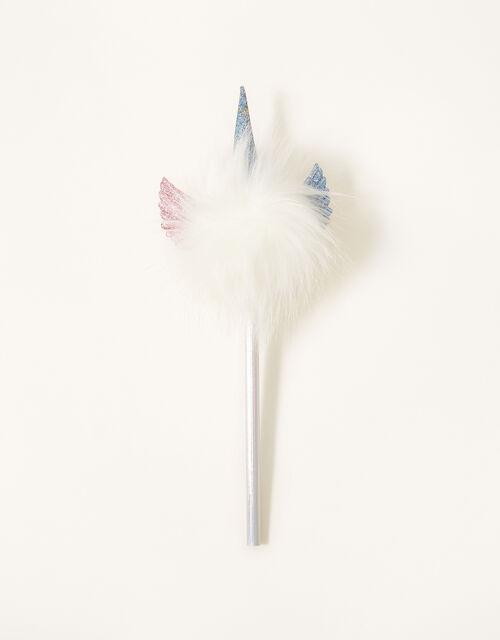 Unicorn Pom-Pom Pencil, , large