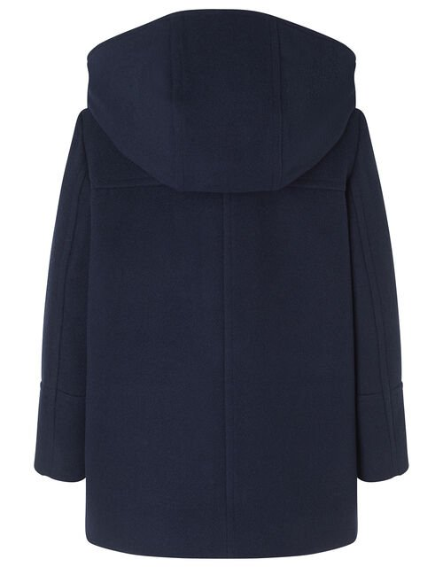 Duffle Coat, Blue (NAVY), large