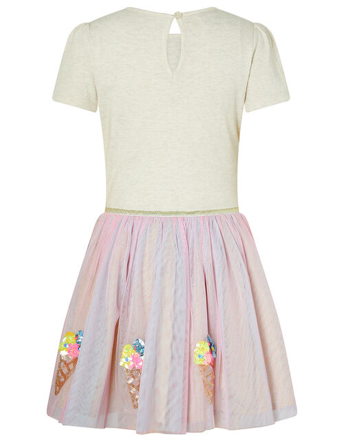 Iris Sequin Ice Cream Disco Dress, Multi (MULTI), large