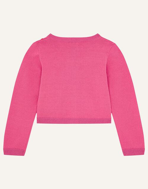Pom-Pom Bolero, Pink (BRIGHT PINK), large