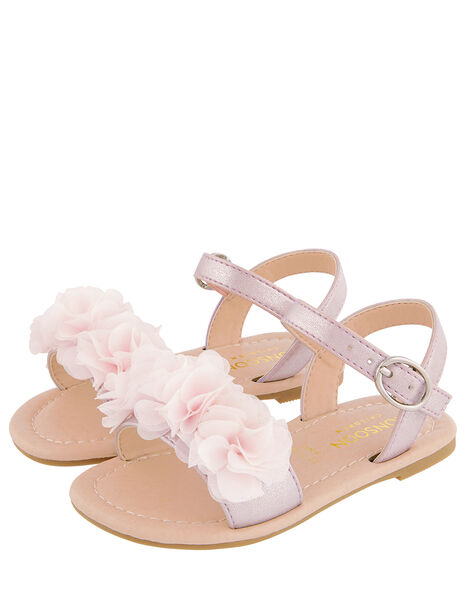 Baby Corsage Sandals Pink, Pink (PINK), large
